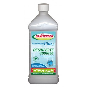 Saniterpen plus Désinfectant odorisant concentré1 l