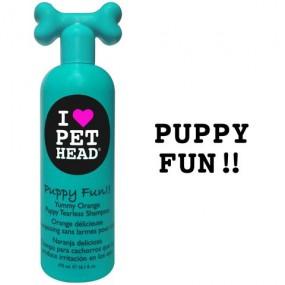 Shampooing PET HEAD Puppy fun chiot