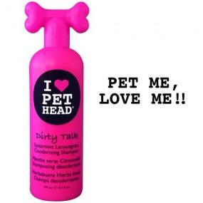shampooing PET HEAD Dirty talk désodorisant