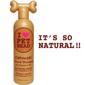 Shampooing Pet Head Oatmeal Natural
