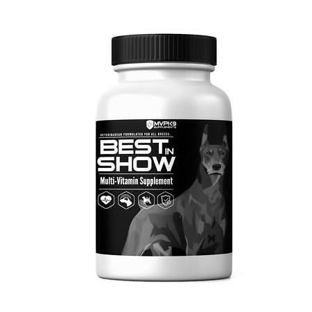 Vitamines MVP BEST IN SHOW pour chien MVP