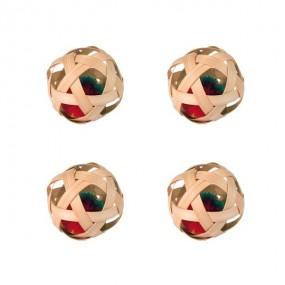 Balles Bambou Diam 6 cm
