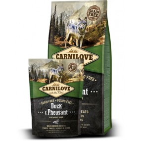 Carnilove Canard et Faisan 12 Kg