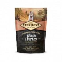 CARNILOVE Large Breed Puppy Salmon & Turkey 1.5Kg
