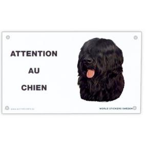 """Plaque """"Attention au chien """""""