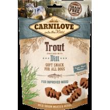 Carnilove Snack Dog Truite Aneth 200g