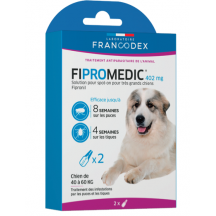 Pipettes Fipromedic Duo 402mg pour très grands chiens x2
