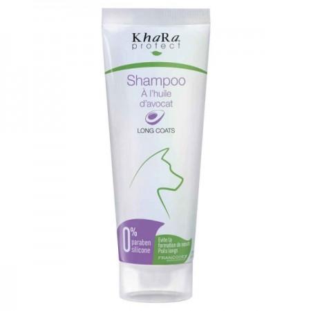 Shampooing poils longs à l'huile d'avocat Khara