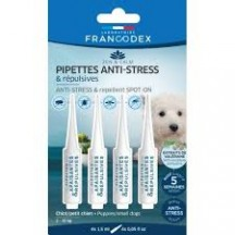 Pipettes anti stress et repulsives chiot /petit chien