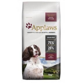 APPLAWS Adulte Small/Medium Poulet et Agneau Grain Free 15kg