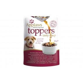 Soupe TOPPERS de potiron au boeuf et legumes par 3