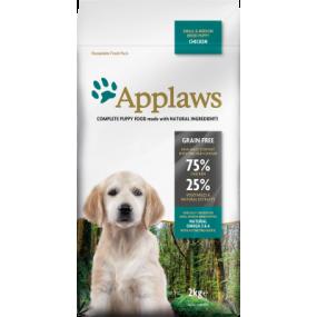 APPLAWS Puppy Small/Medum Poulet Grain Free 15kg
