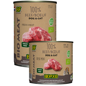Boite BIOMEAT à la viande de boeuf