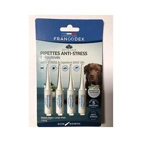 Pipettes anti stress et repulsives grand chien +de20kg