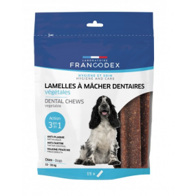 Lamelles à Macher dentaire  pour chien de 10 à 30 kg